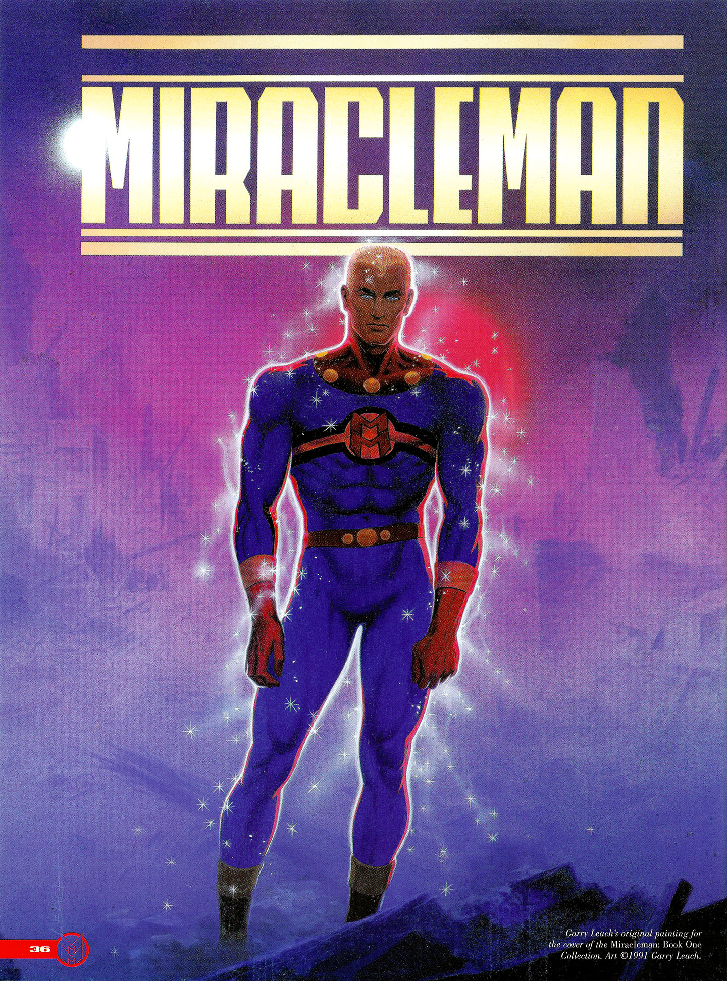 Read online Kimota!: The Miracleman Companion comic -  Issue # Full - 37