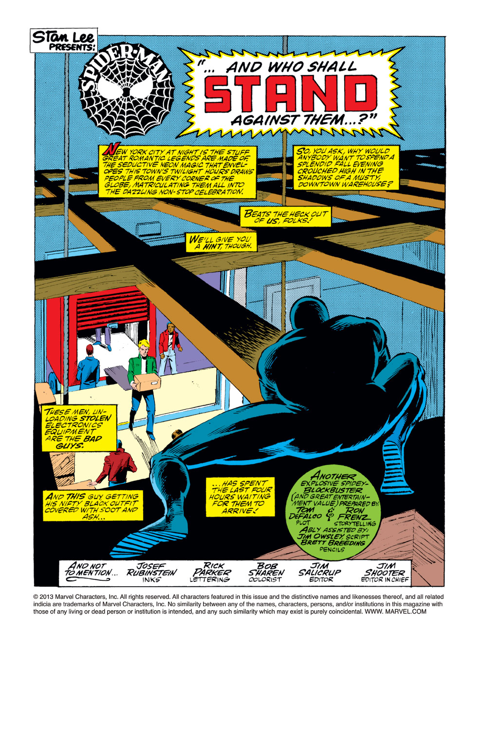 The Amazing Spider-Man (1963) 284 Page 1