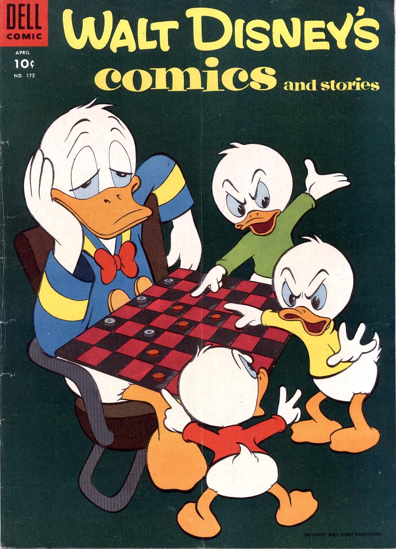 Walt Disneys Comics and Stories 175 Page 1