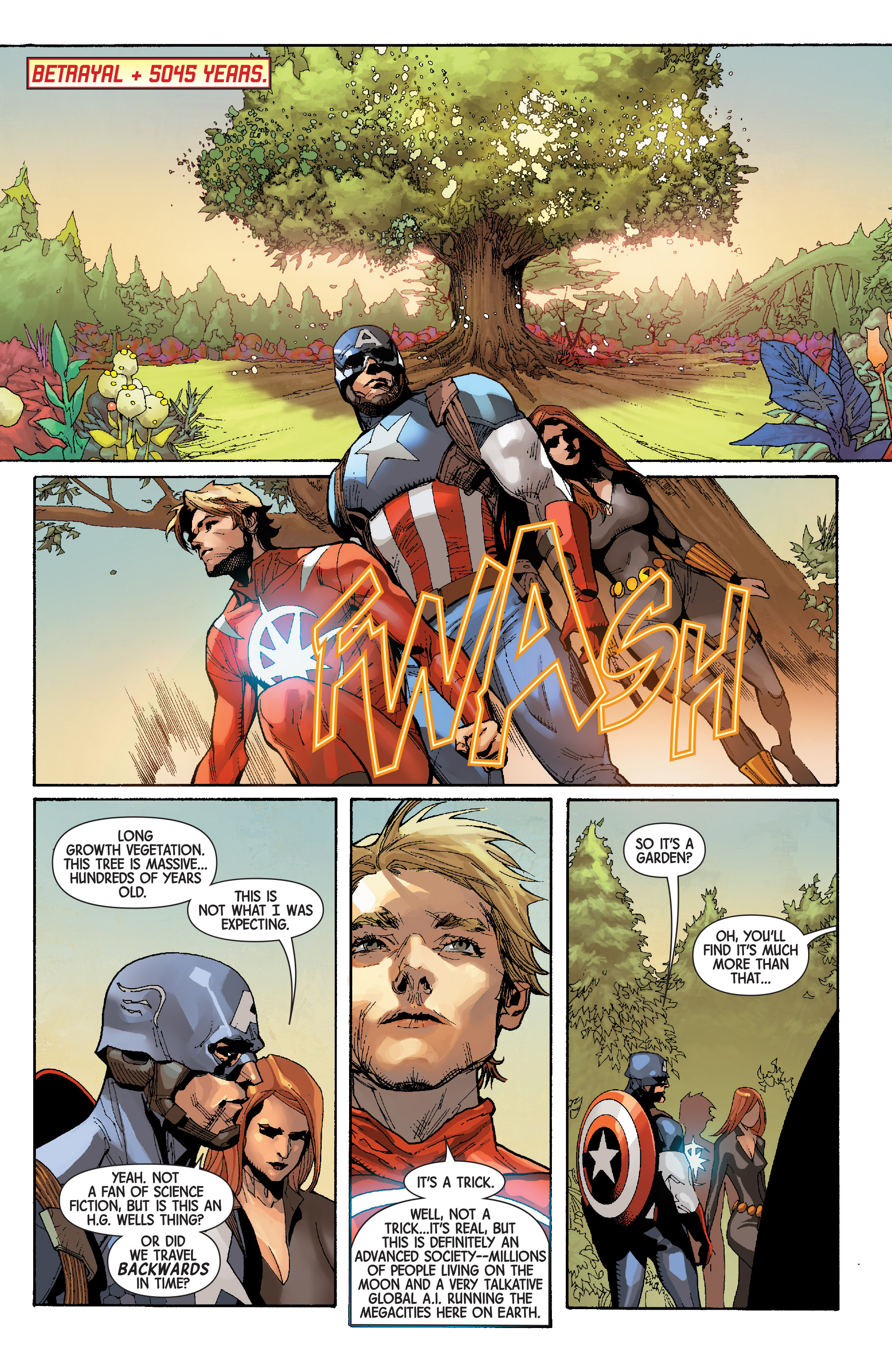 Read online Avengers (2013) comic -  Issue #32 - 5