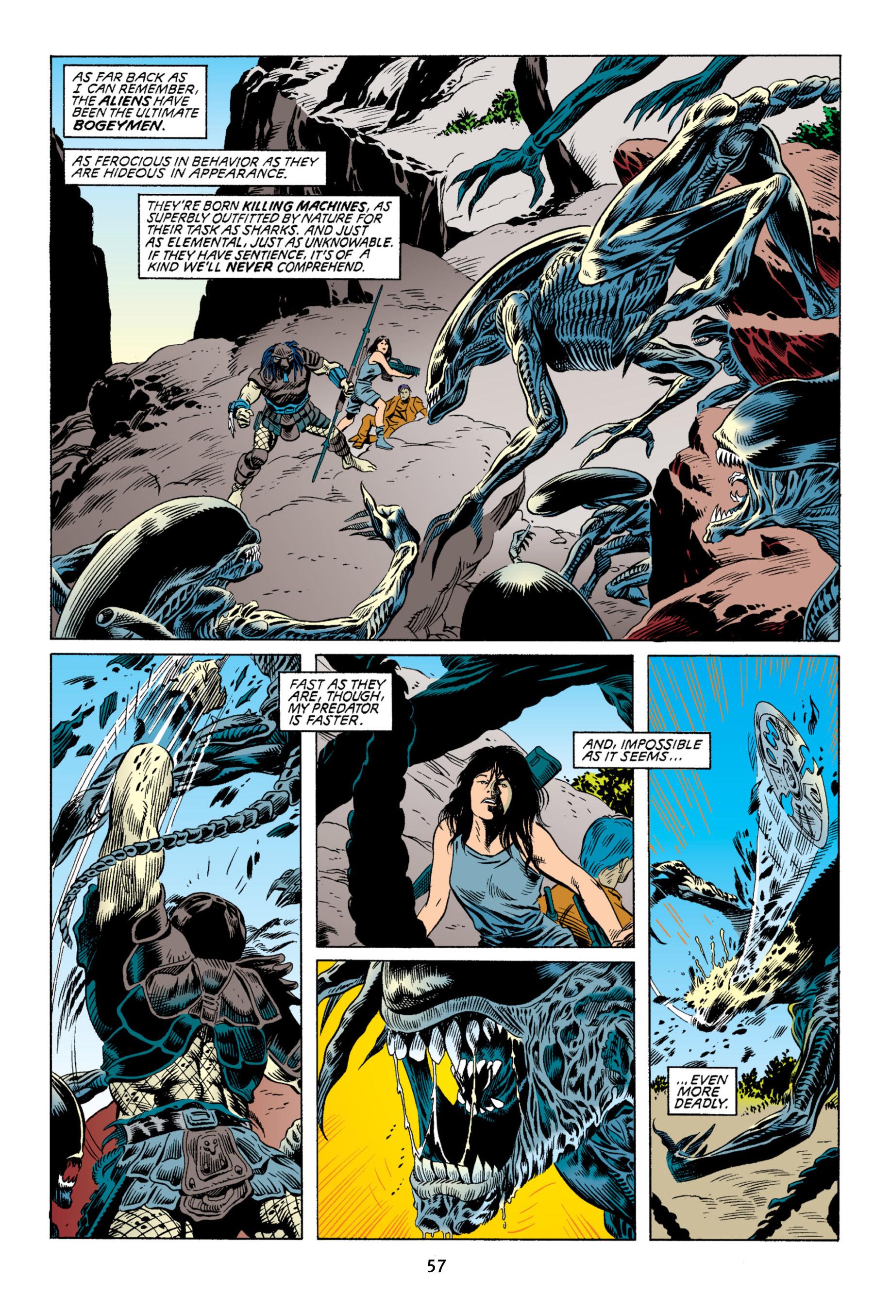 Read online Aliens vs. Predator Omnibus comic -  Issue # _TPB 2 Part 1 - 57