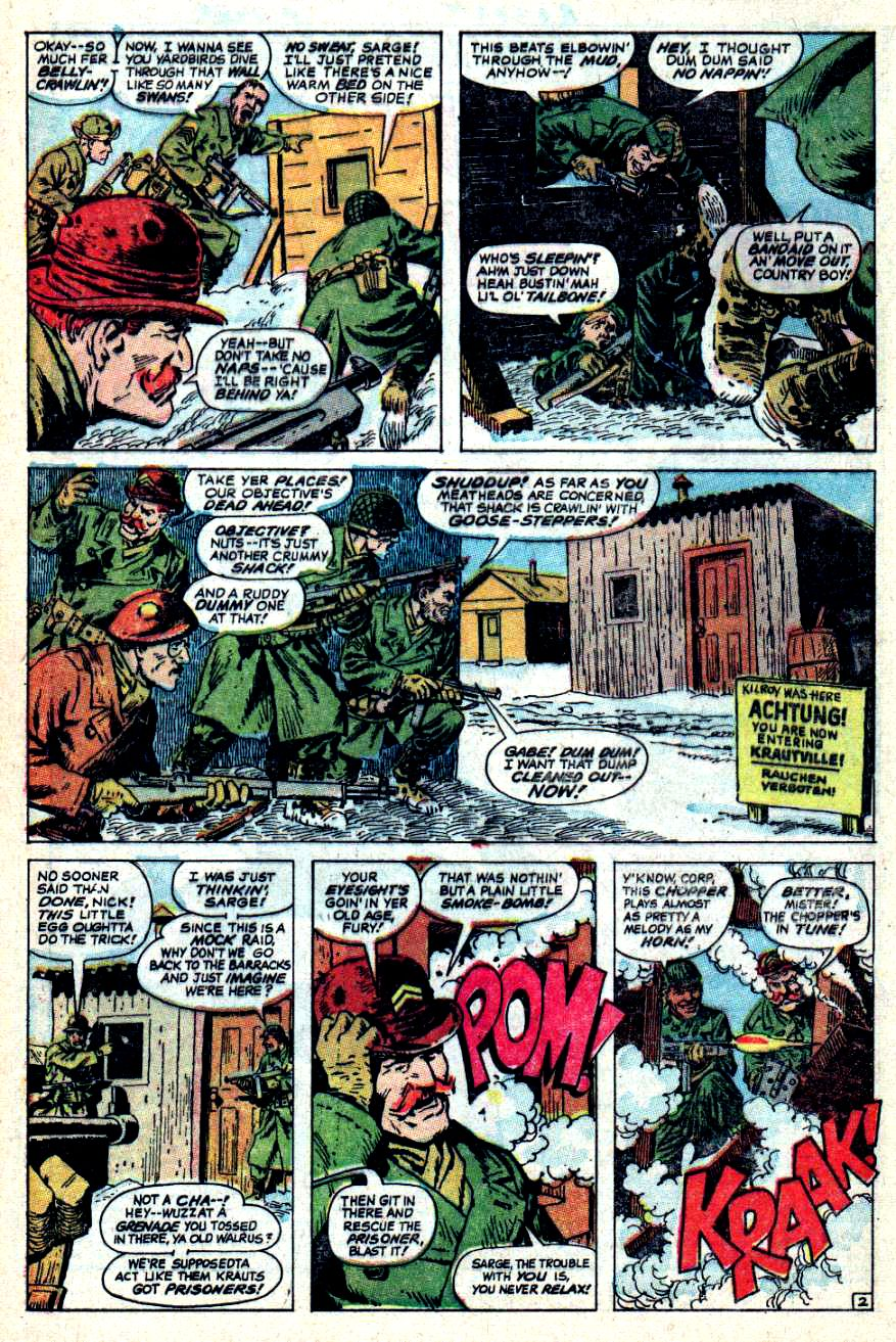 Read online Sgt. Fury comic -  Issue #44 - 4