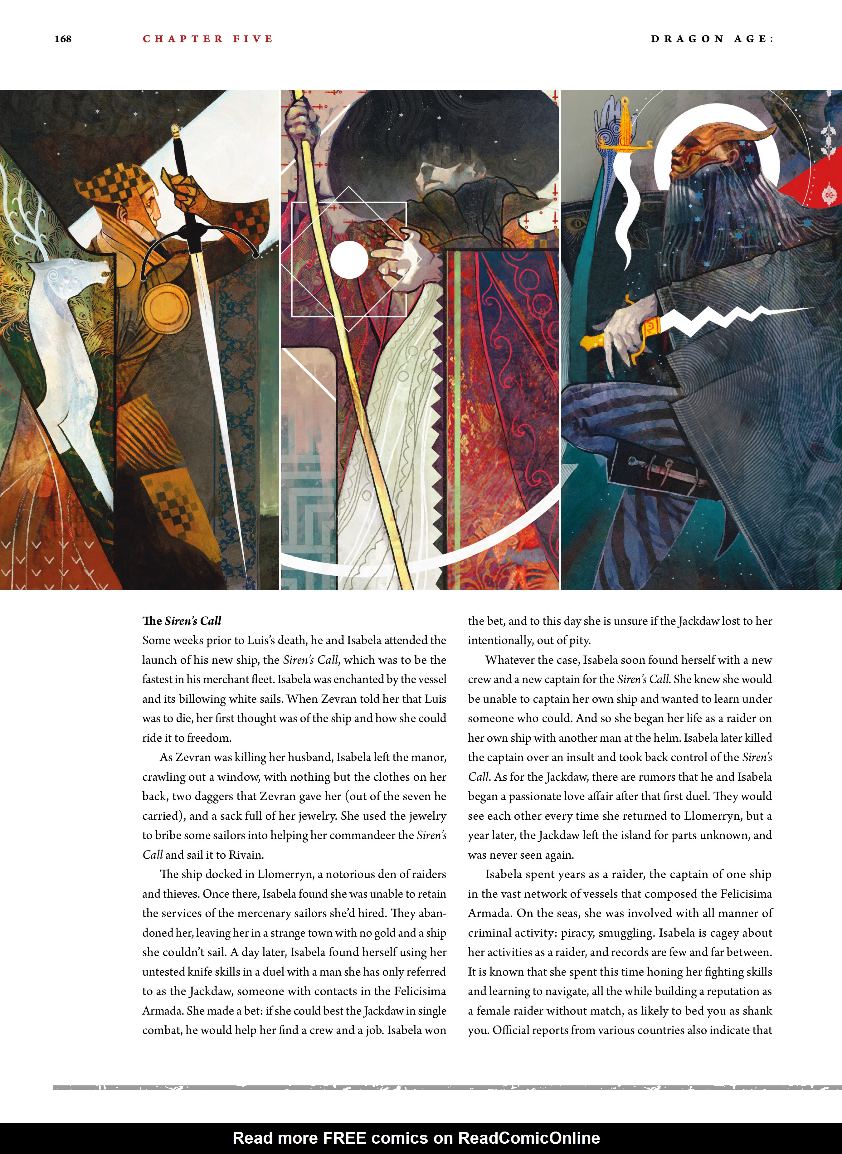 Read online Dragon Age: The World of Thedas comic -  Issue # TPB 2 - 163