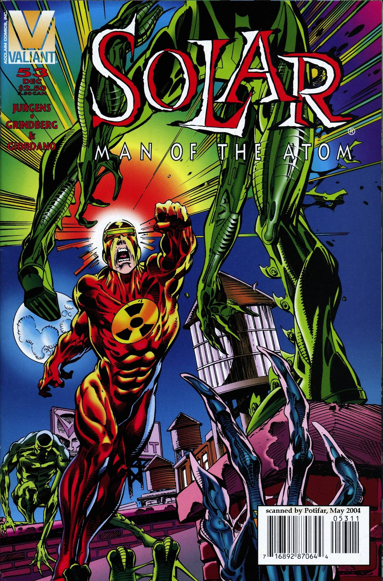 Read online Solar, Man of the Atom comic -  Issue #53 - 1