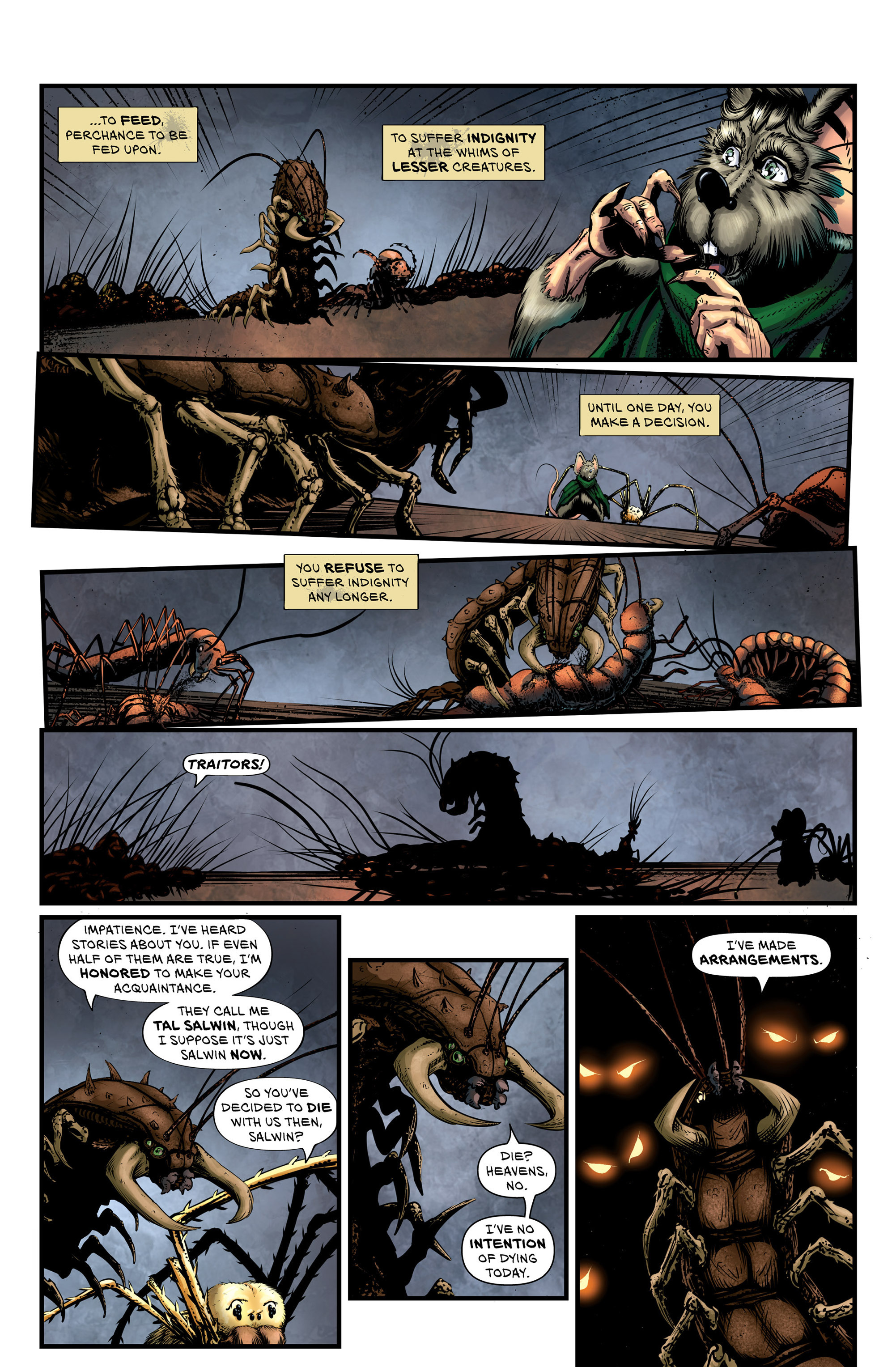Read online Wretched Things comic -  Issue #3 - 3