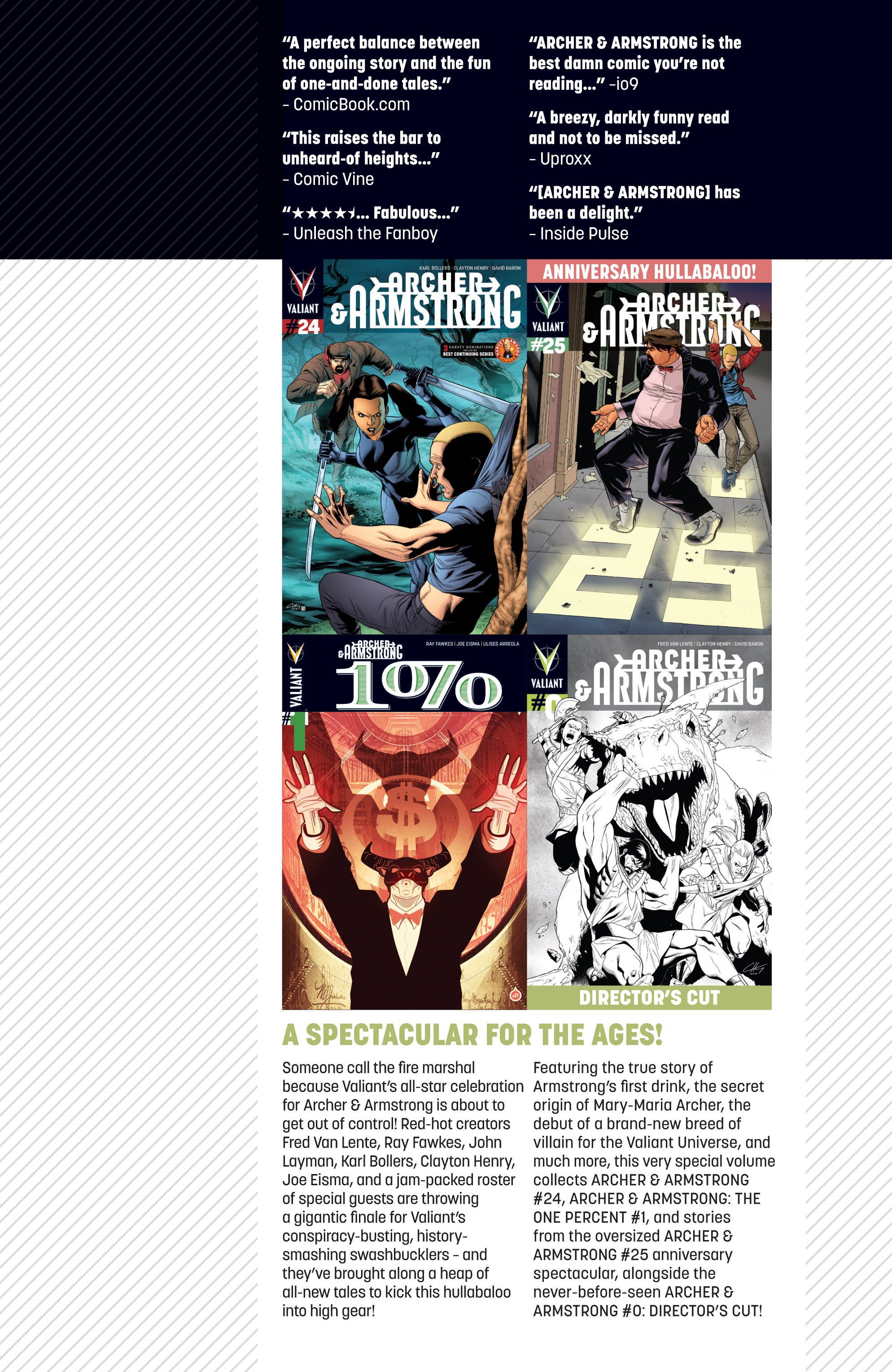 Read online Archer and Armstrong comic -  Issue #Archer and Armstrong _TPB 7 - 105
