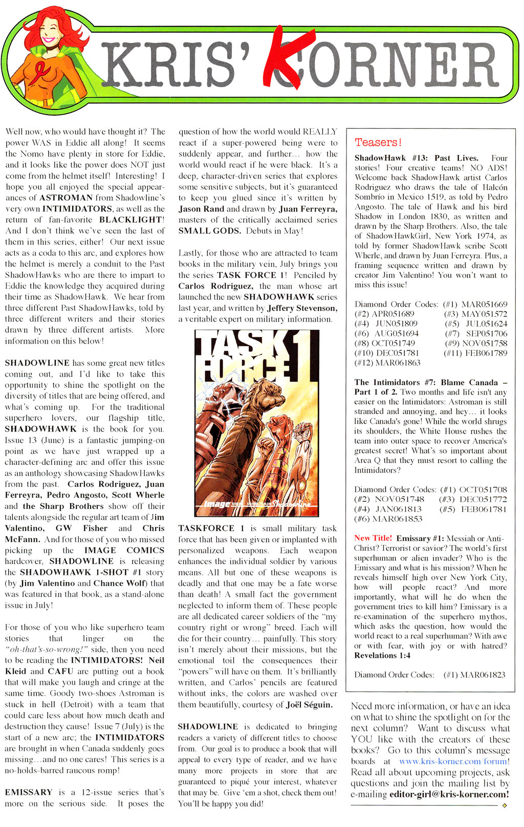 Read online ShadowHawk (2005) comic -  Issue #12 - 31