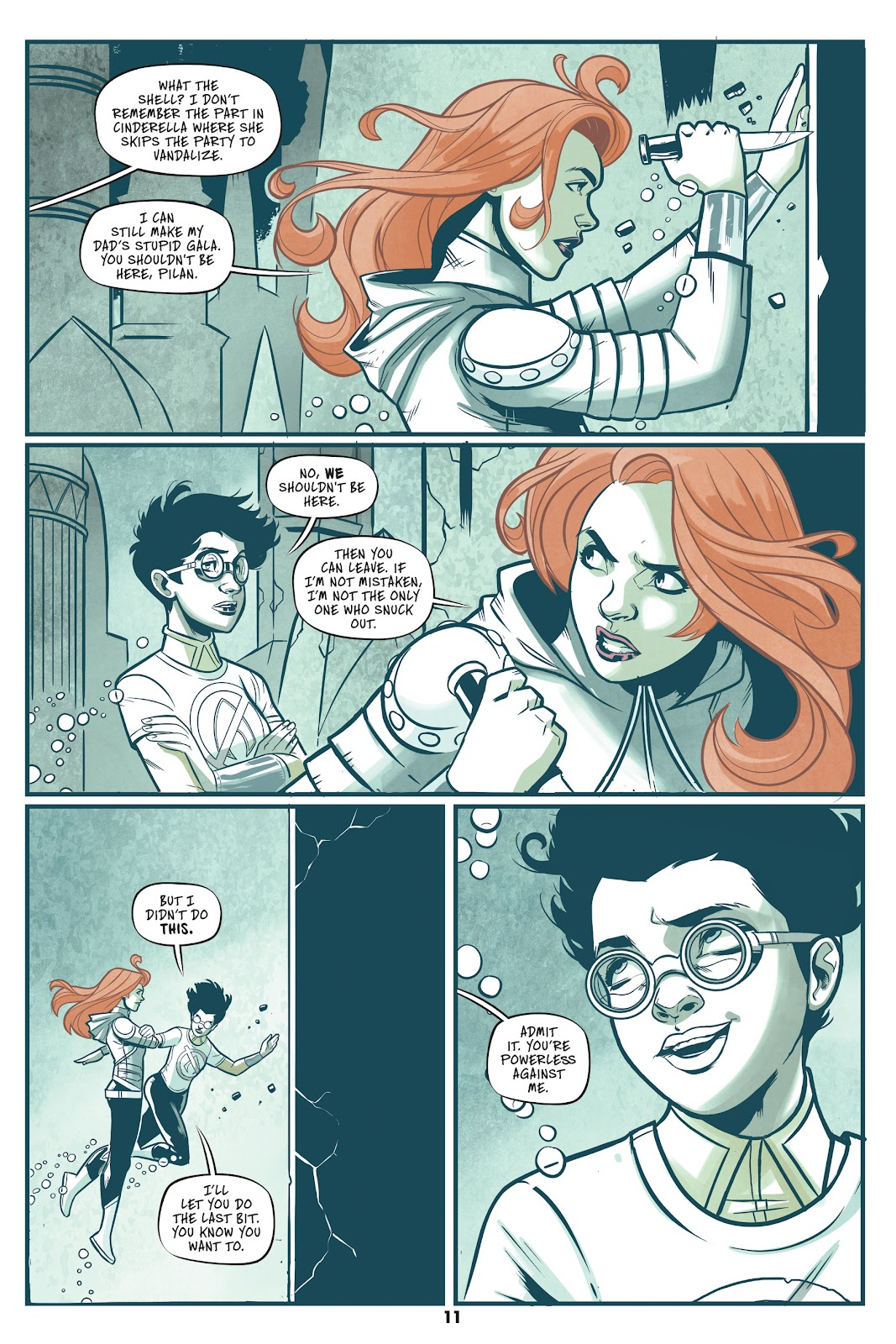 Read online Mera: Tidebreaker comic -  Issue # TPB (Part 1) - 11