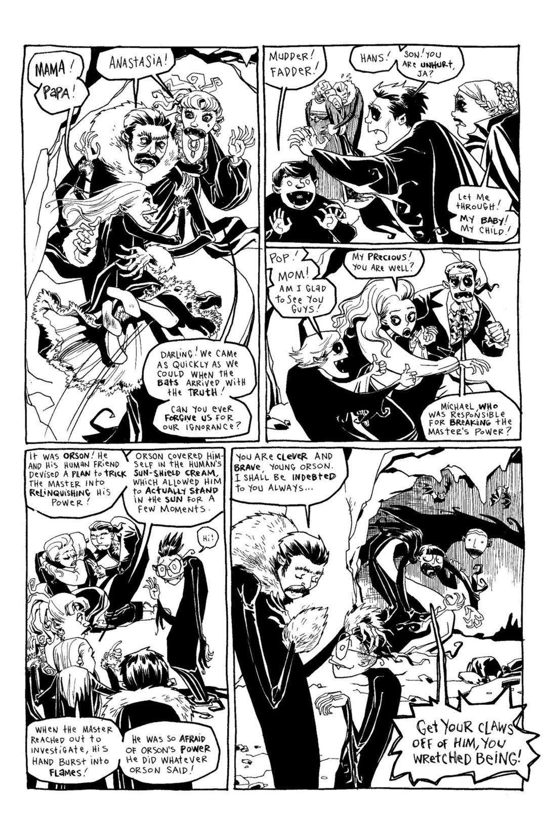 Read online Scary Godmother Comic Book Stories comic -  Issue # TPB - 232