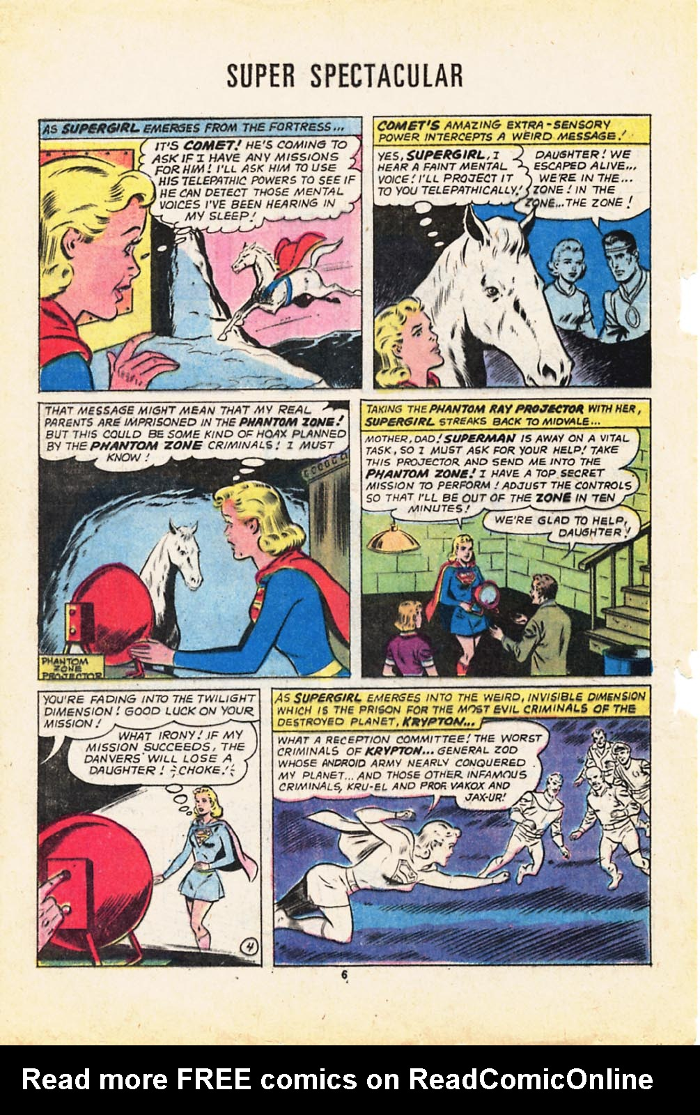 Read online Adventure Comics (1938) comic -  Issue #416 - 6