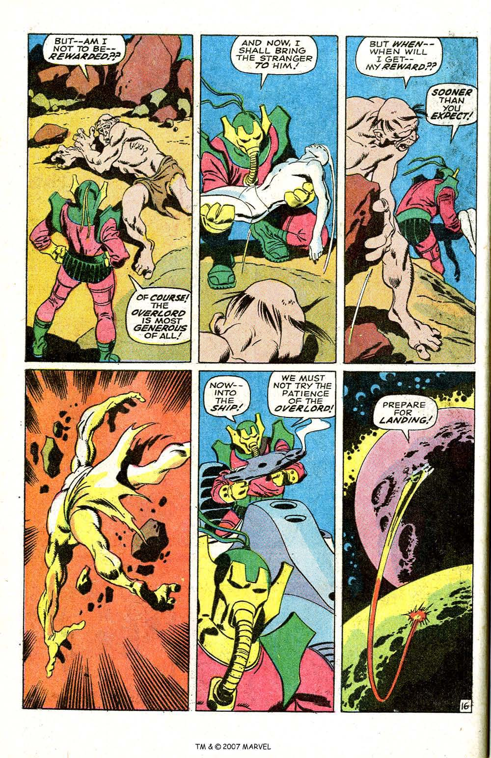 Read online Silver Surfer (1968) comic -  Issue #6 - 20