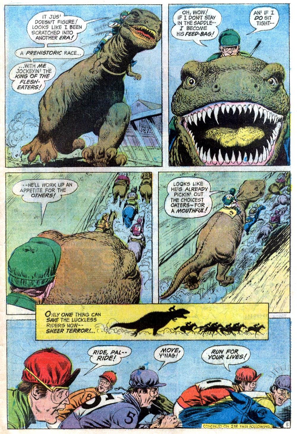 Read online Strange Sports Stories (1973) comic -  Issue #2 - 20