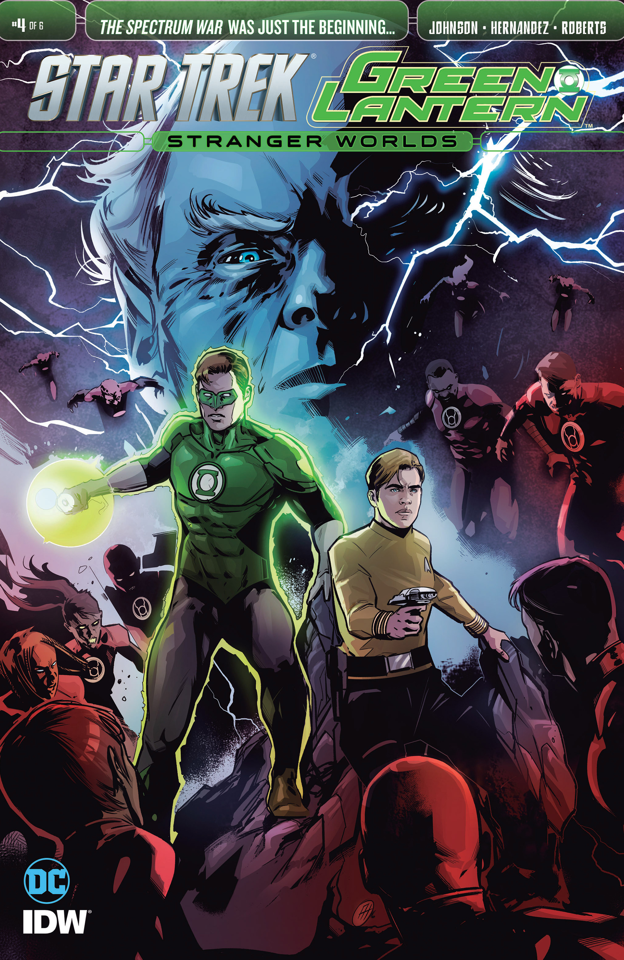 Star Trek/Green Lantern (2016) 4 Page 1