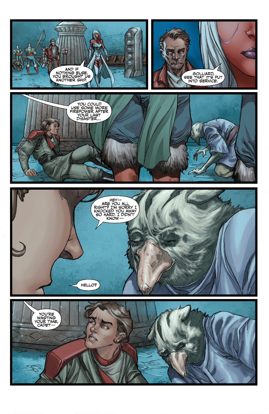 Read online Star Wars Legends: The Old Republic - Epic Collection comic -  Issue # TPB 3 (Part 2) - 77