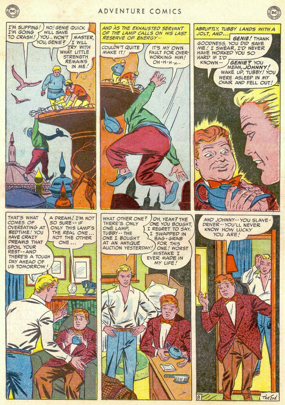 Read online Adventure Comics (1938) comic -  Issue #161 - 32