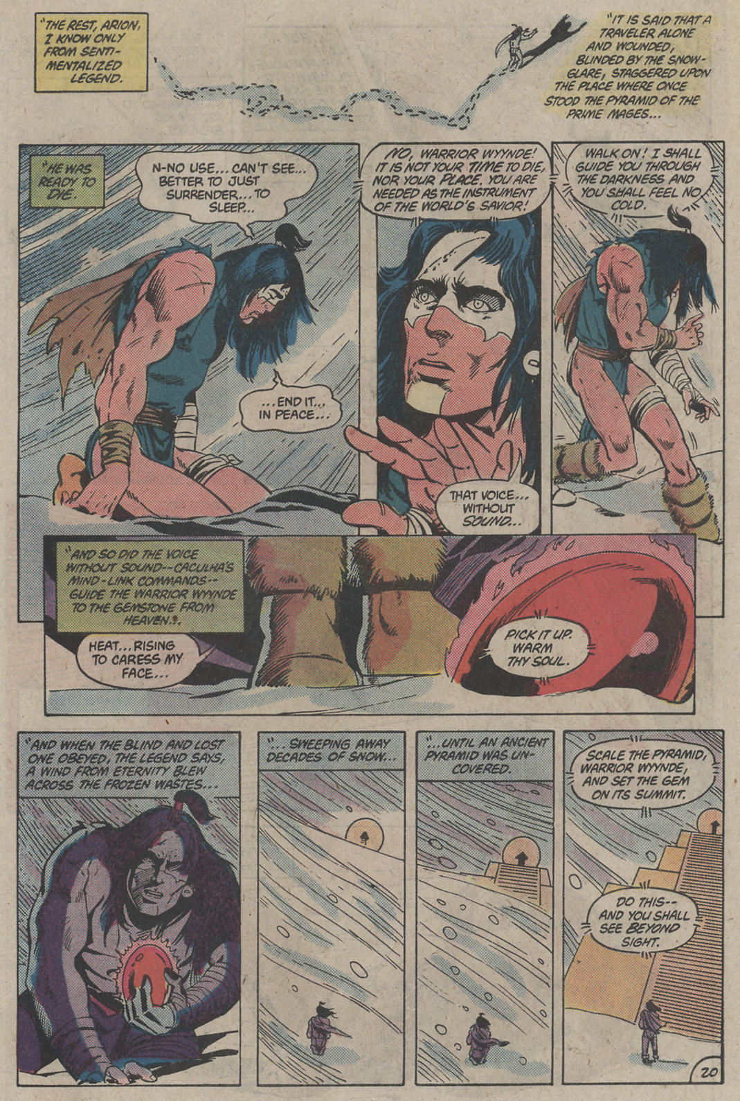 Read online Arion, Lord of Atlantis comic -  Issue #4 - 20
