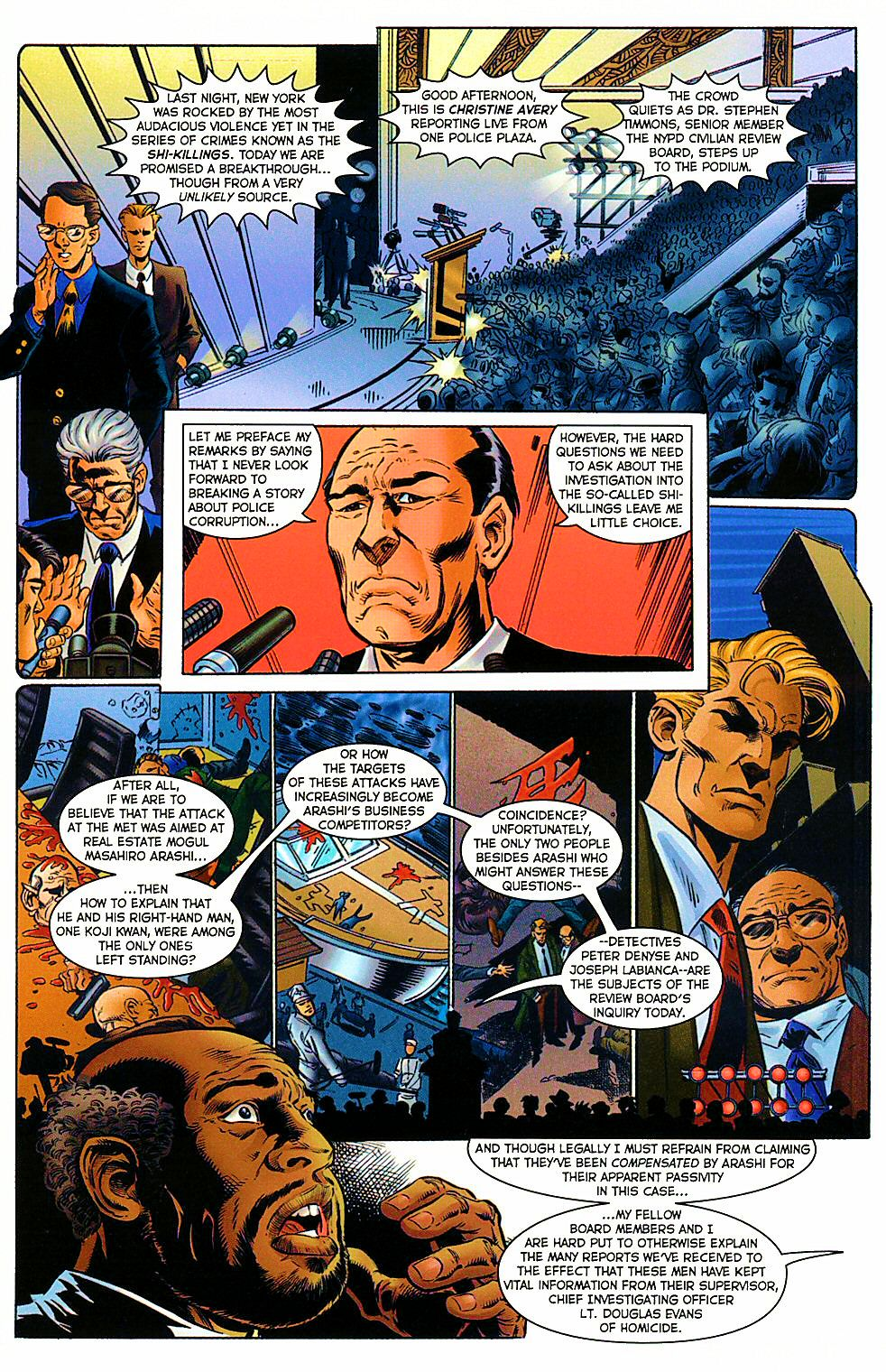 Read online Shi: The Way of the Warrior comic -  Issue #9 - 21