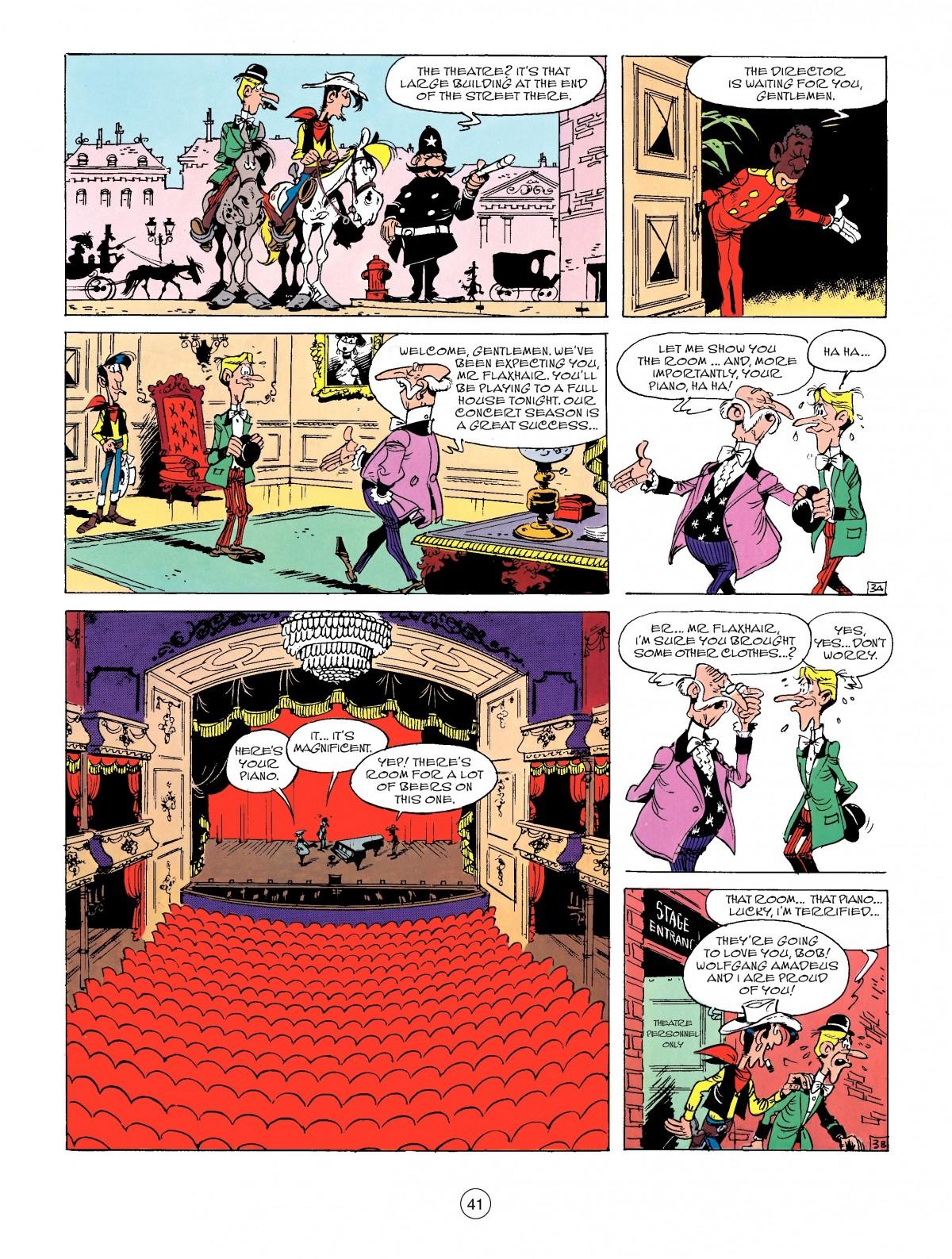 Read online A Lucky Luke Adventure comic -  Issue #50 - 41