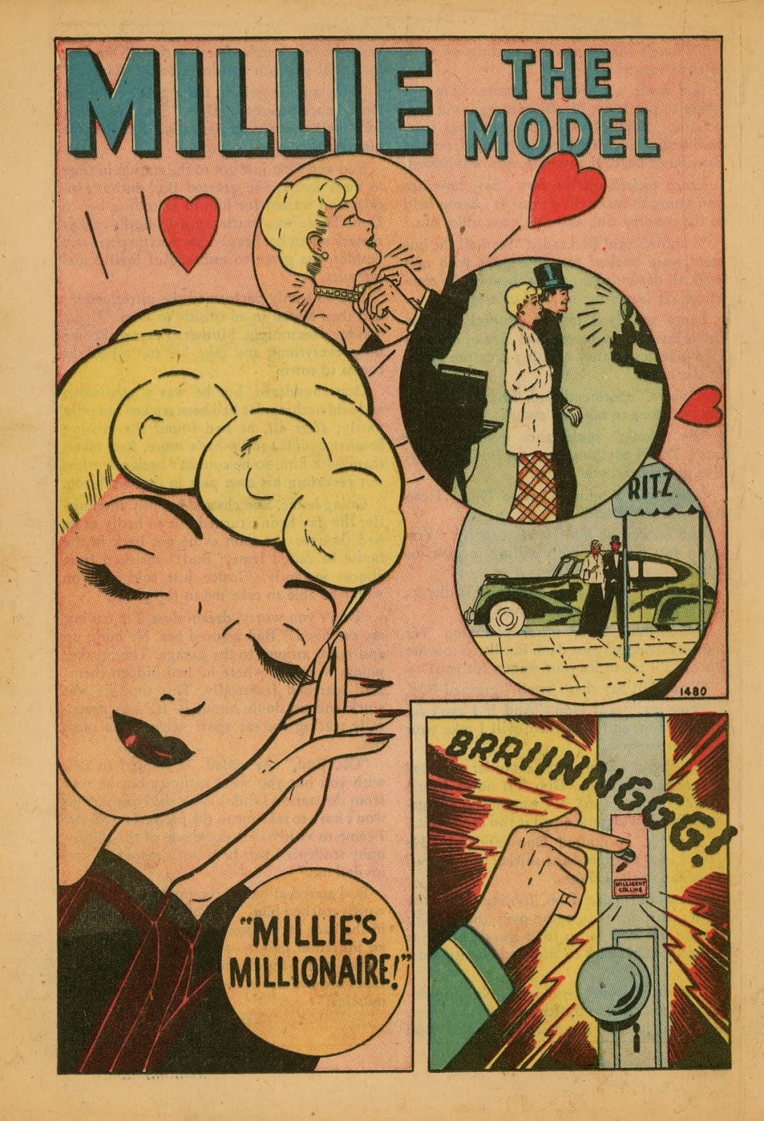 Read online Millie the Model comic -  Issue #7 - 28