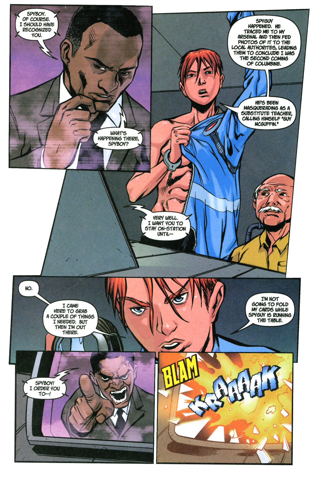 Read online SpyBoy: Final Exam comic -  Issue #3 - 16