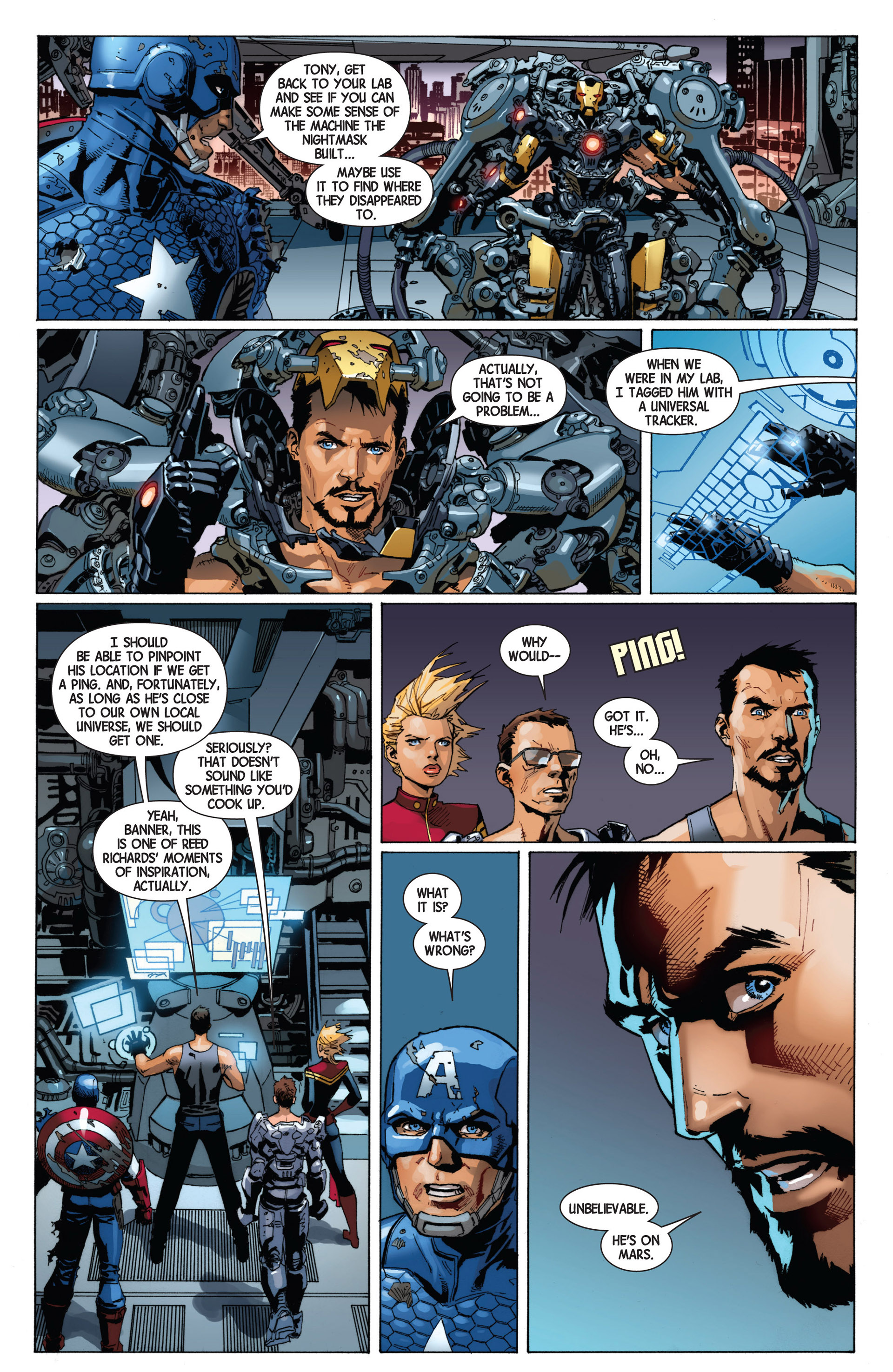 Read online Avengers (2013) comic -  Issue #8 - 21