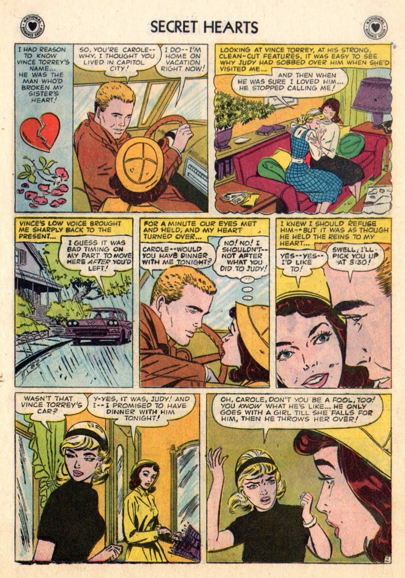 Read online Secret Hearts comic -  Issue #48 - 19