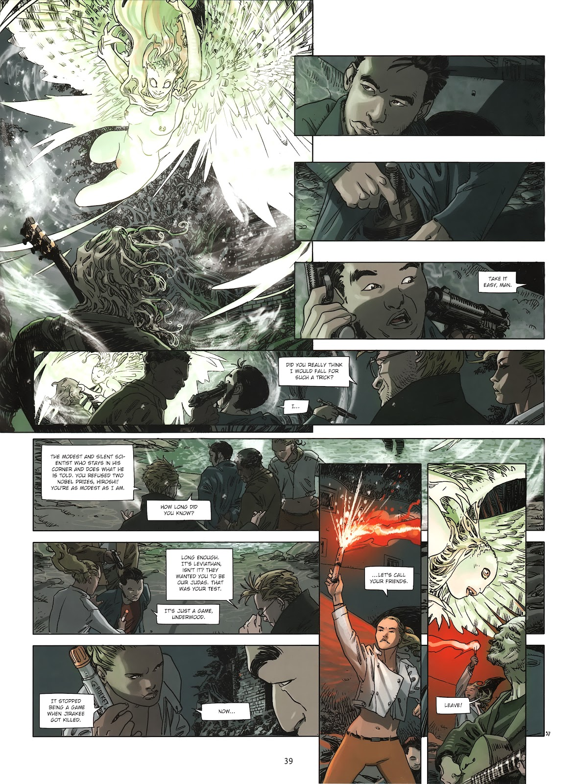 Read online Cutting Edge (2013) comic -  Issue #2 - 38
