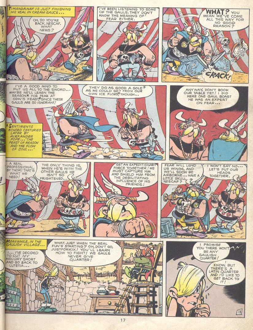 Read online Asterix comic -  Issue #9 - 14