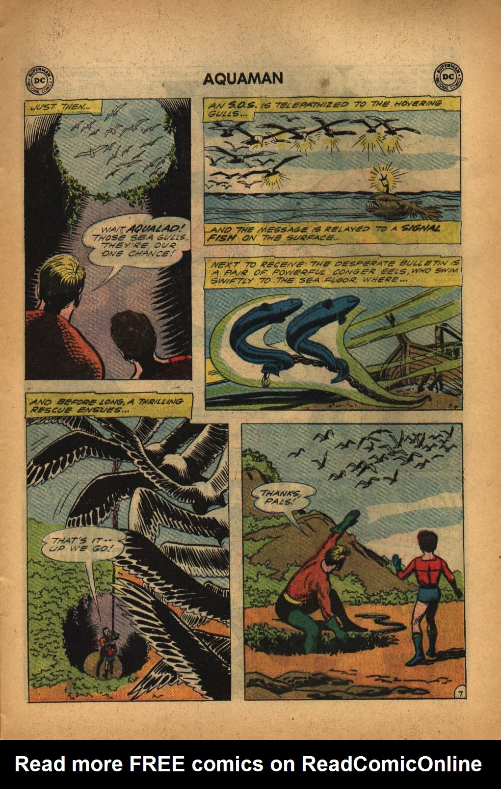 Read online Aquaman (1962) comic -  Issue #4 - 9