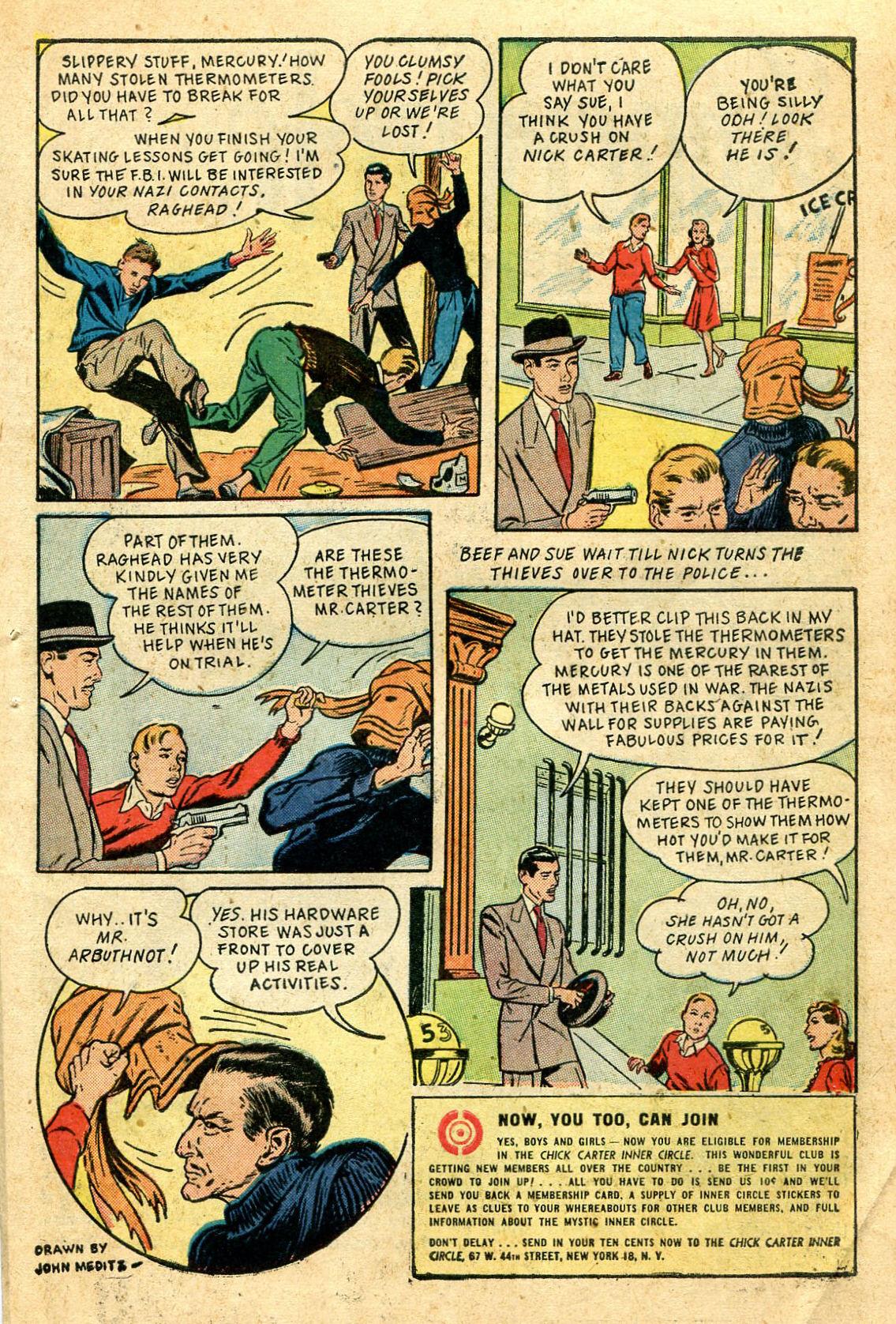 Read online Shadow Comics comic -  Issue #44 - 46