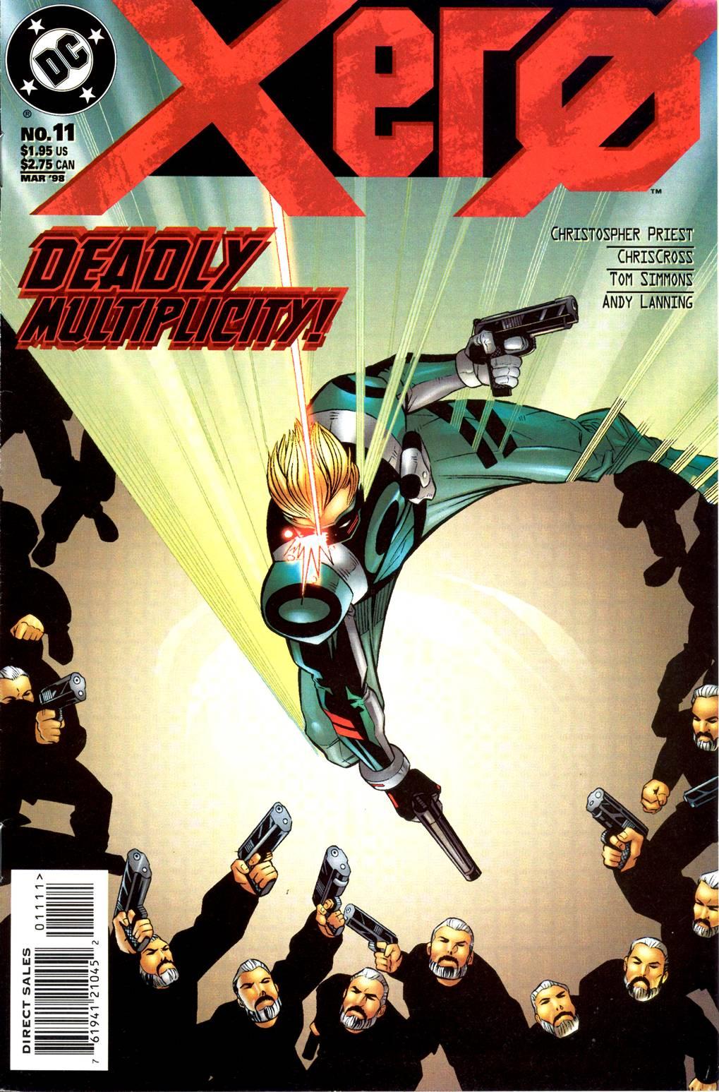 Read online Xero comic -  Issue #11 - 2