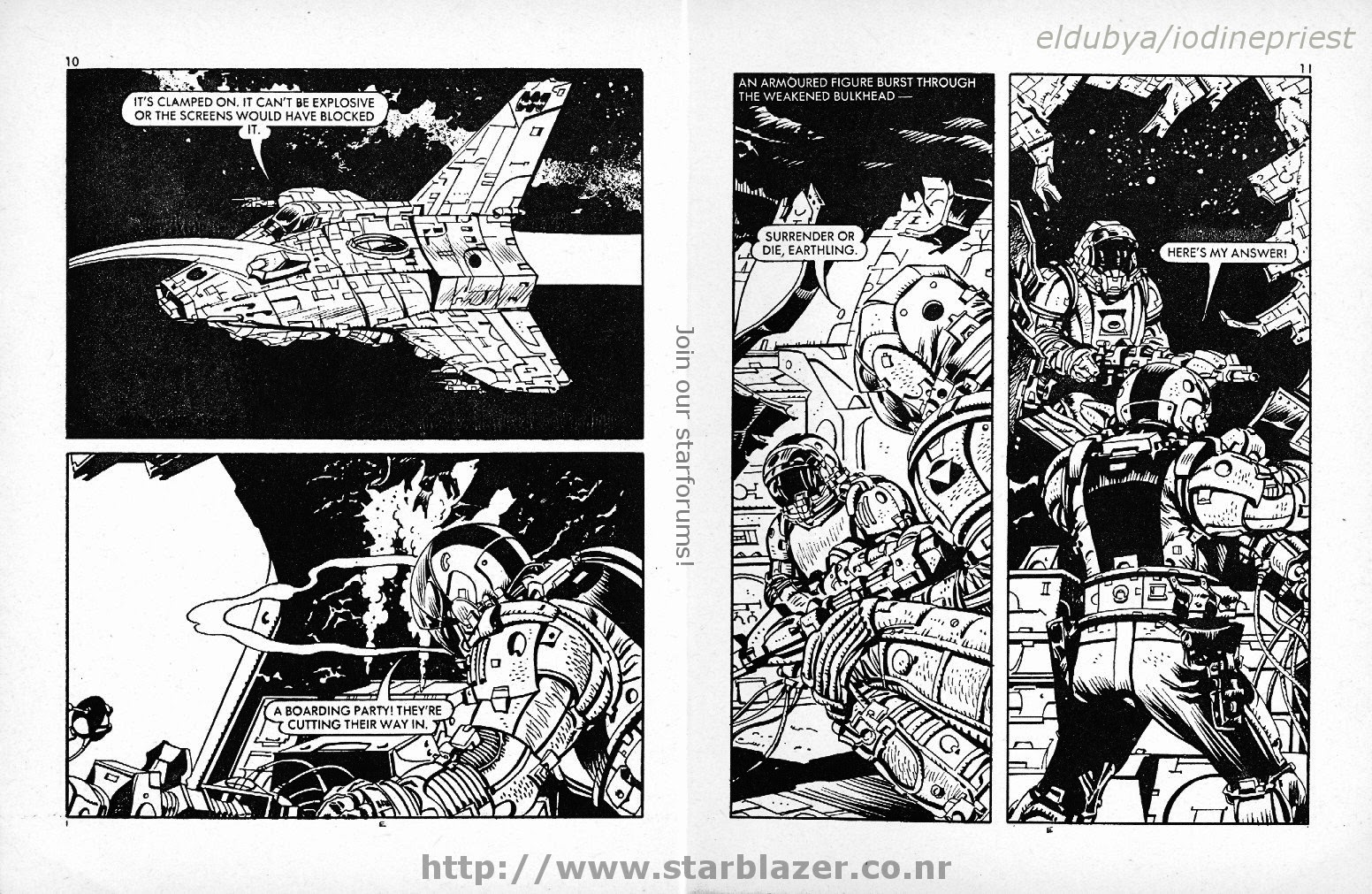 Starblazer issue 114 - Page 7