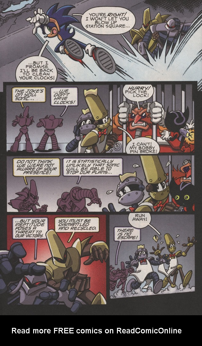 Read online Sonic X comic -  Issue #22 - 28