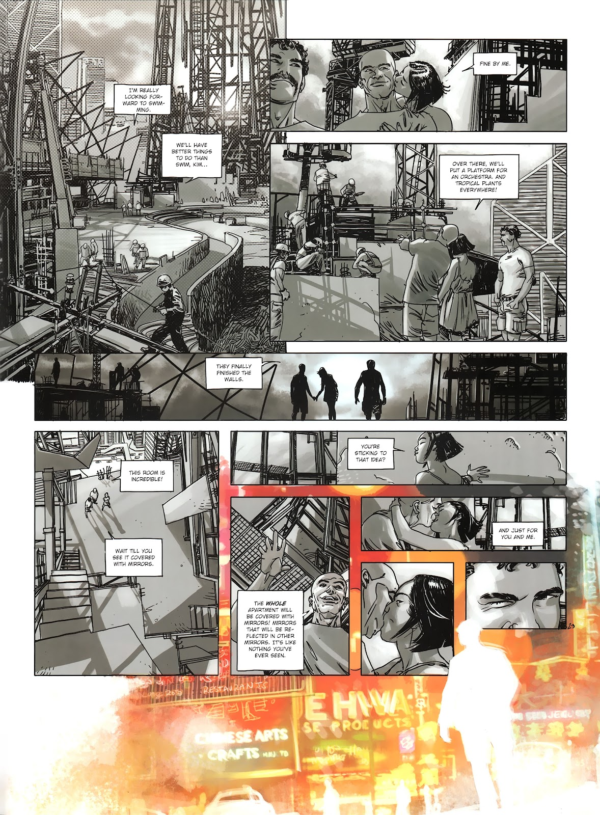 Read online Cutting Edge (2013) comic -  Issue #3 - 23