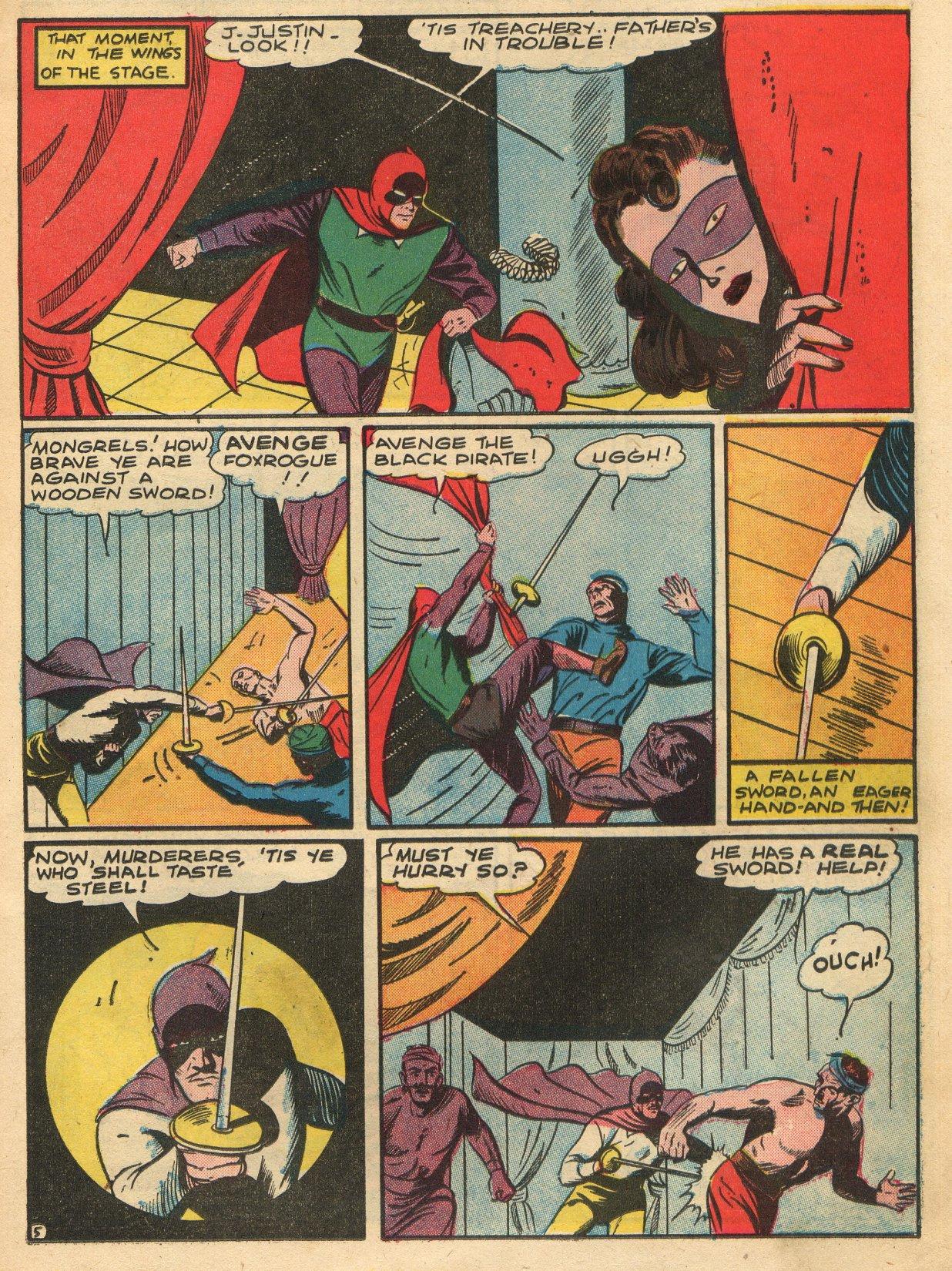 Read online Sensation (Mystery) Comics comic -  Issue #22 - 21