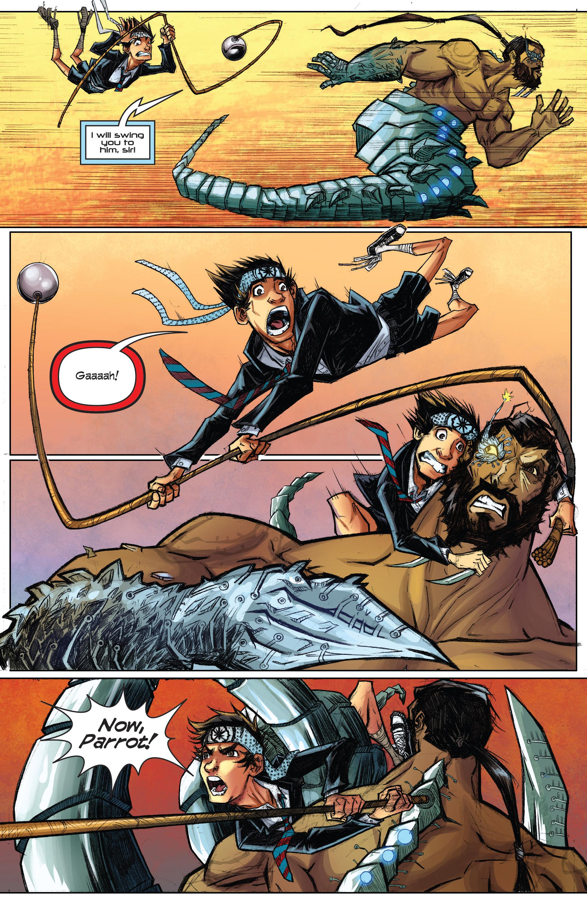 Read online Infinite Seven comic -  Issue #3 - 23