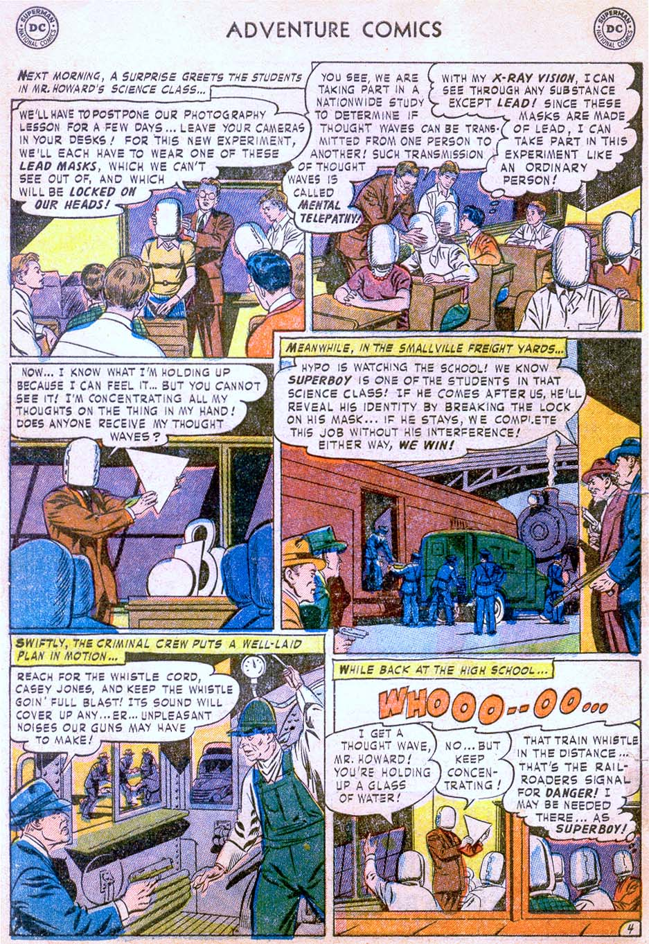 Read online Adventure Comics (1938) comic -  Issue #178 - 6