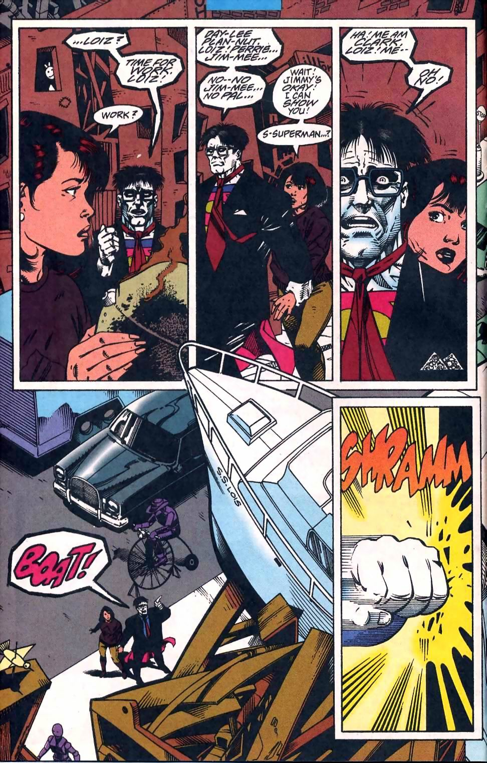 Read online Adventures of Superman (1987) comic -  Issue #510 - 7