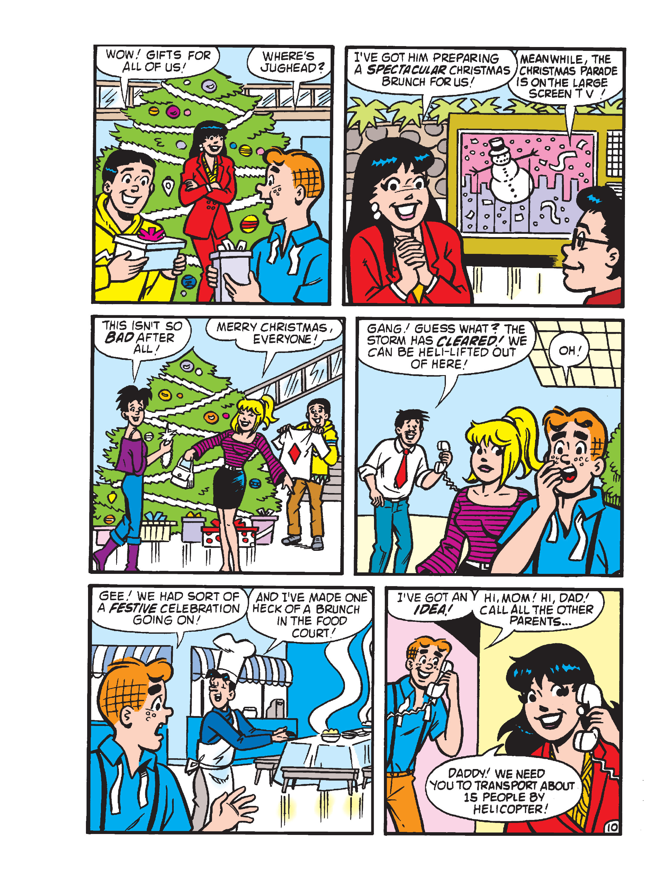 Read online Archie's Funhouse Double Digest comic -  Issue #23 - 180