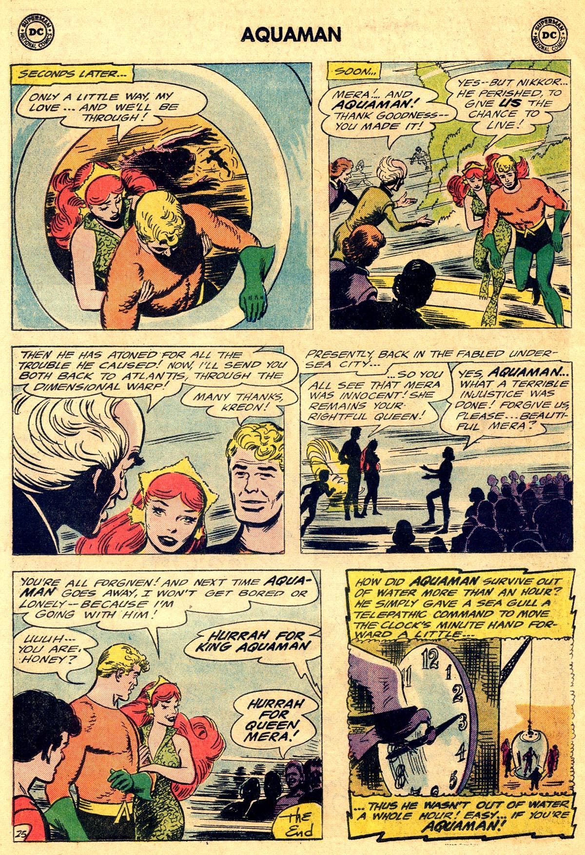 Read online Aquaman (1962) comic -  Issue #19 - 32