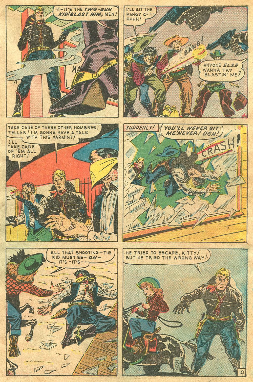Read online Two-Gun Kid comic -  Issue #1 - 31