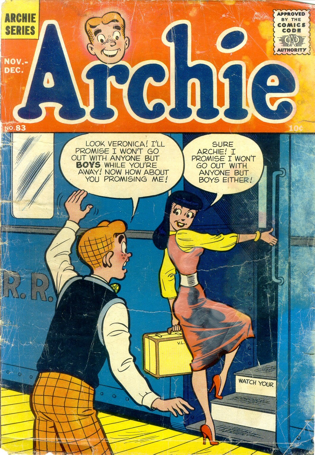 Archie Comics issue 083 - Page 1