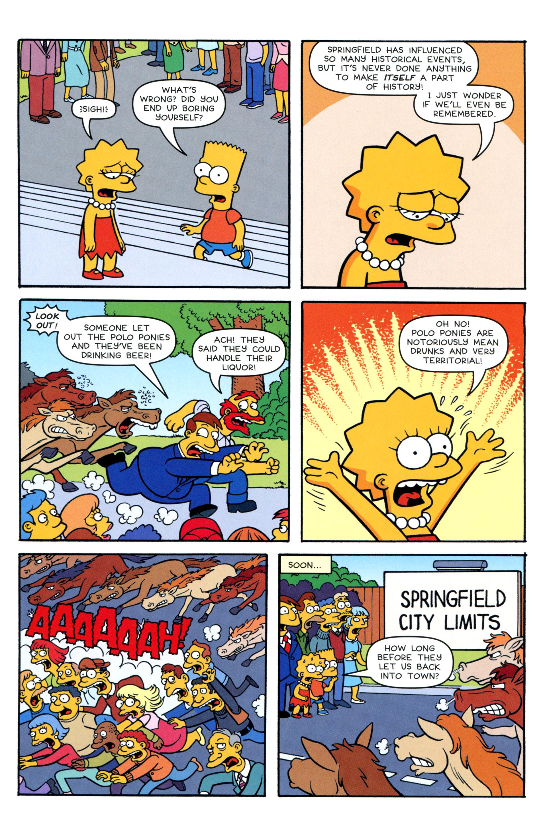 Read online Simpsons Comics comic -  Issue #200 - 28
