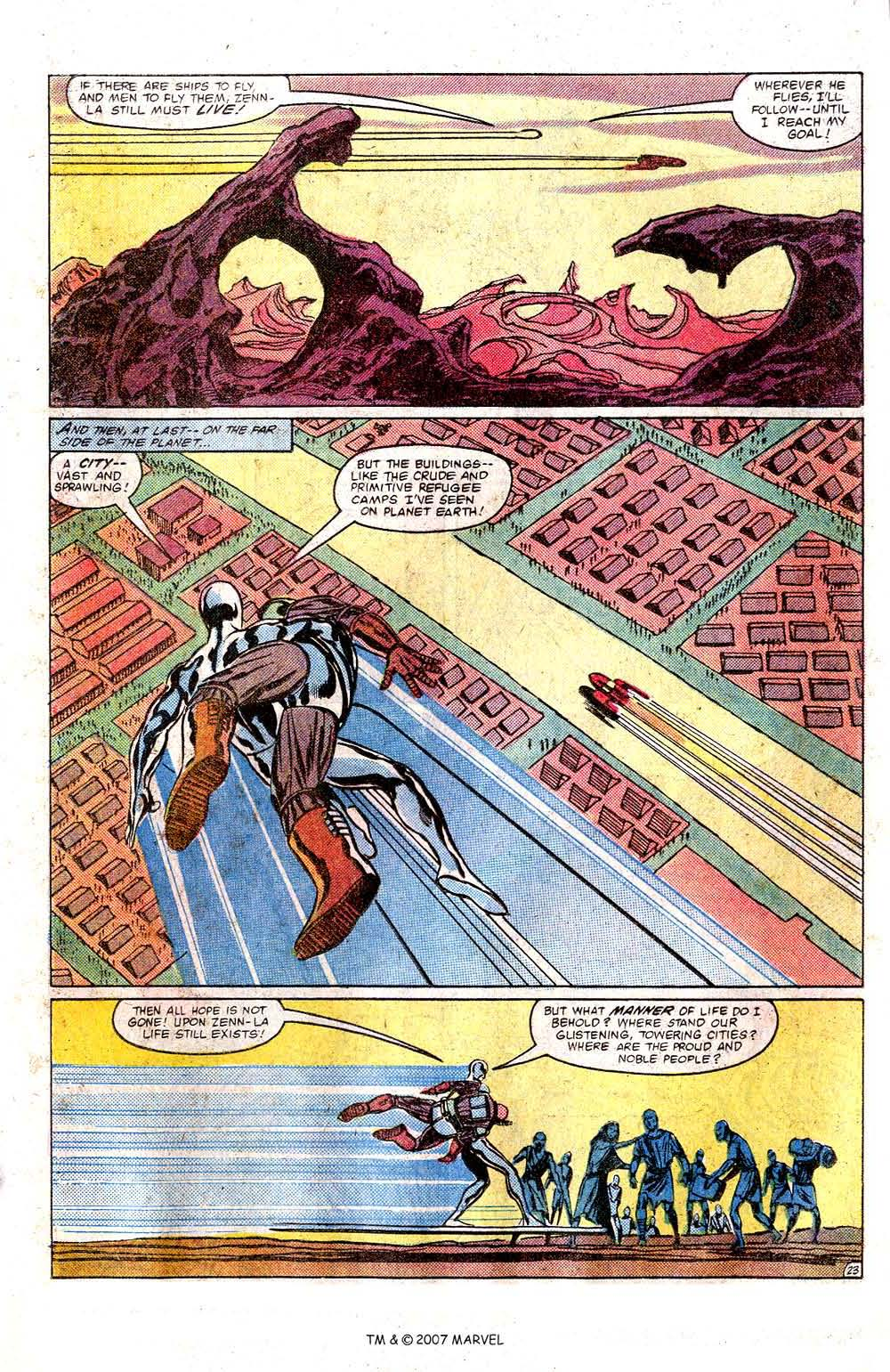 Read online Silver Surfer (1982) comic -  Issue # Full - 25