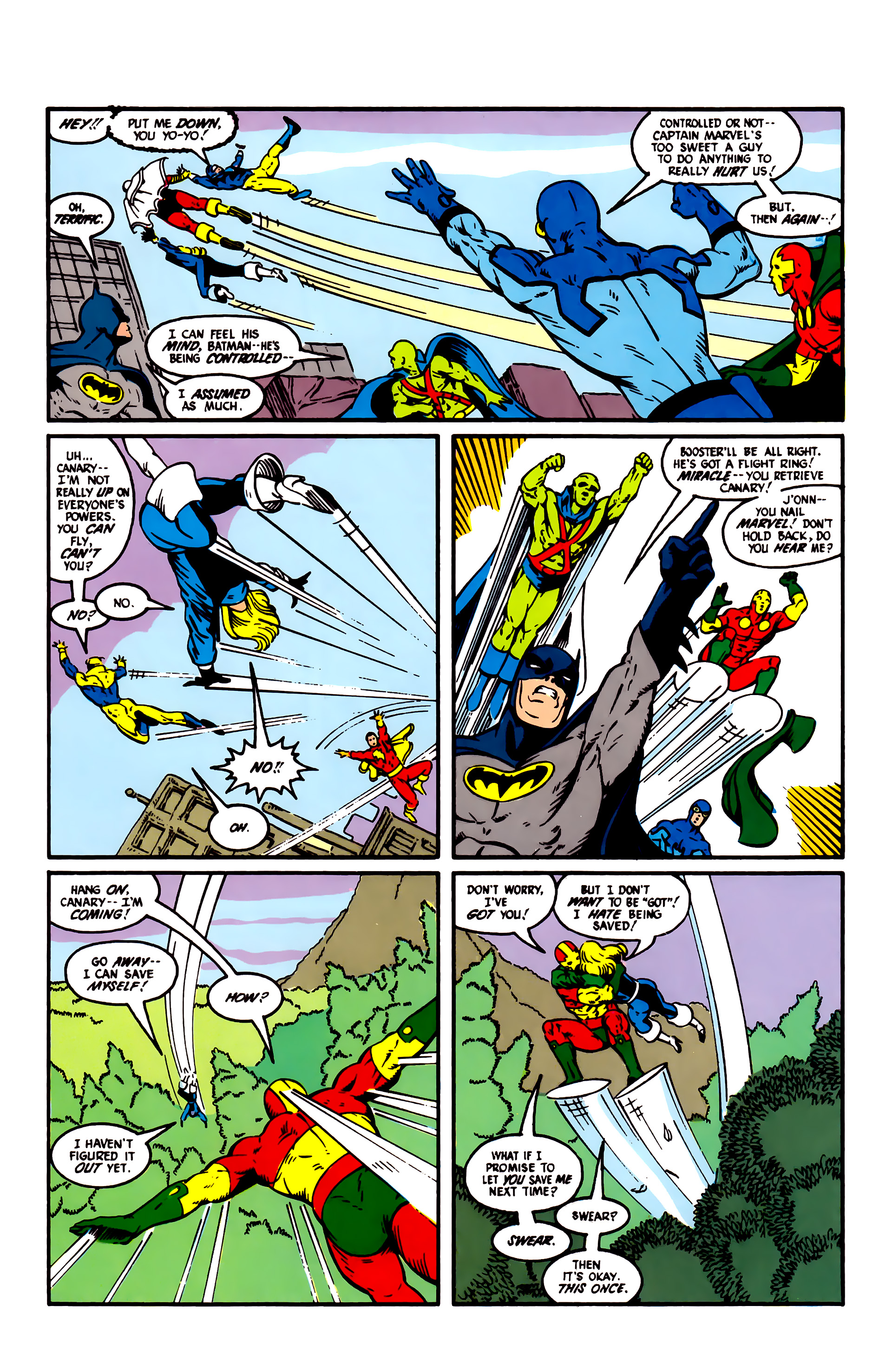 Read online Justice League (1987) comic -  Issue #6 - 9