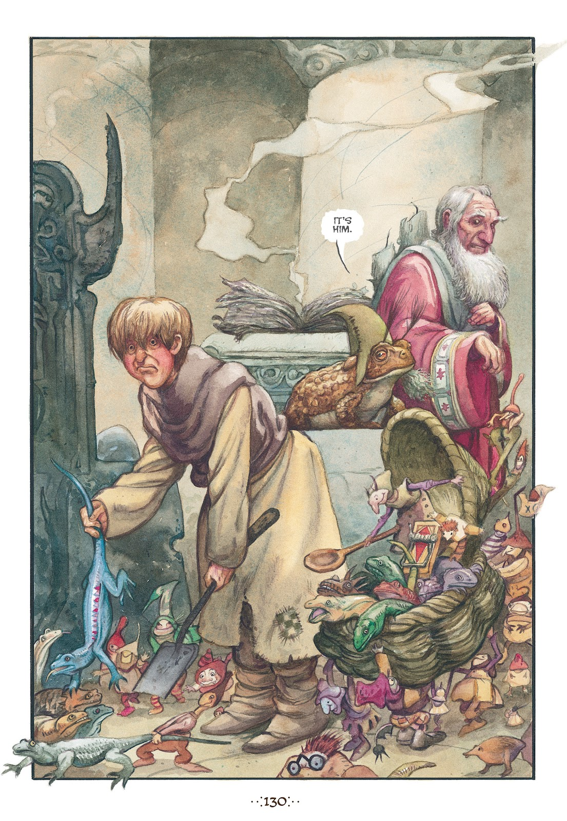 Read online The Wizard's Tale comic -  Issue # TPB - 123