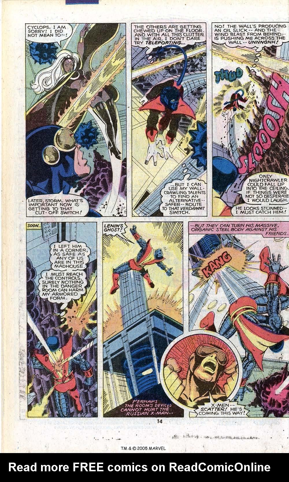 Read online Uncanny X-Men (1963) comic -  Issue # _Annual 3 - 16