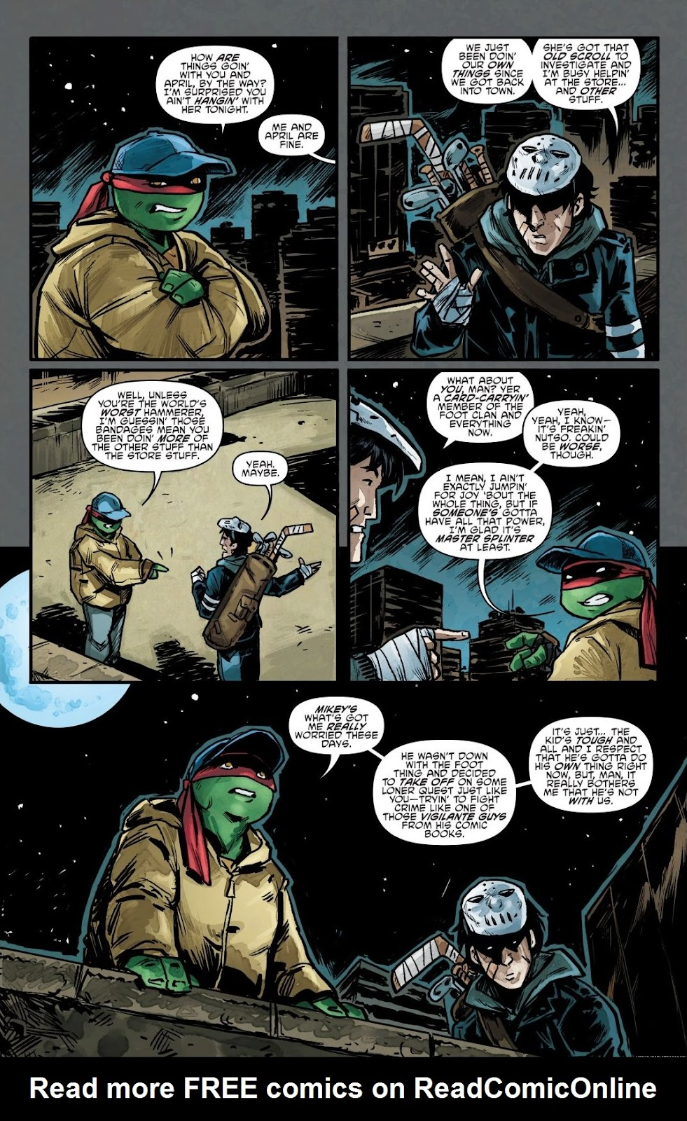 Read online Teenage Mutant Ninja Turtles: The IDW Collection comic -  Issue # TPB 7 (Part 1) - 60