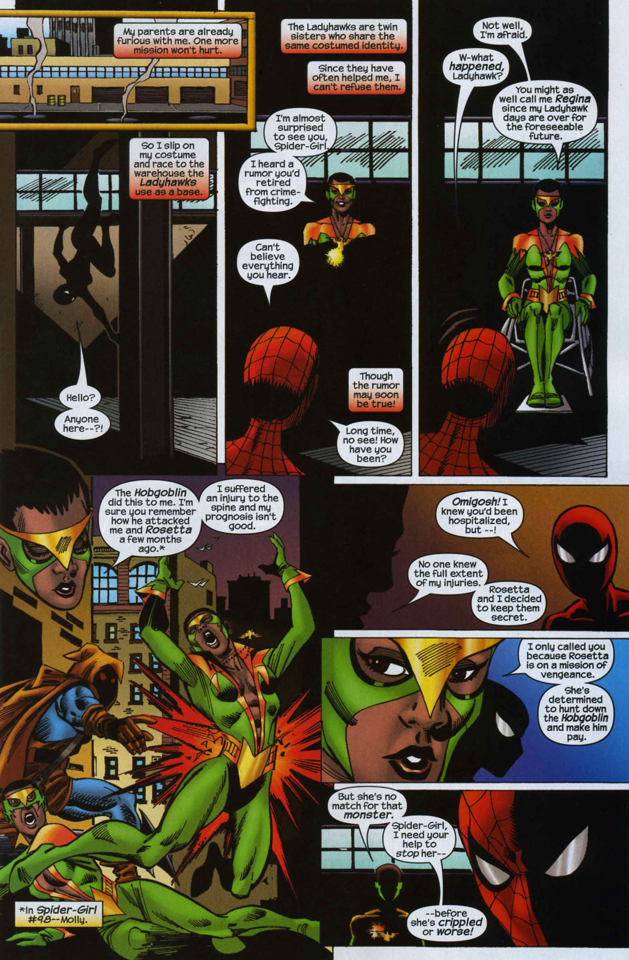 Read online Amazing Spider-Girl comic -  Issue #7 - 8