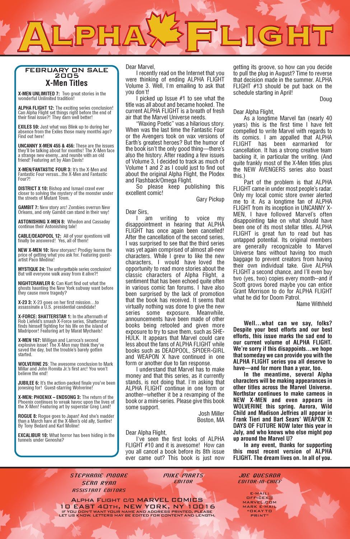 Alpha Flight (2004) issue 12 - Page 24